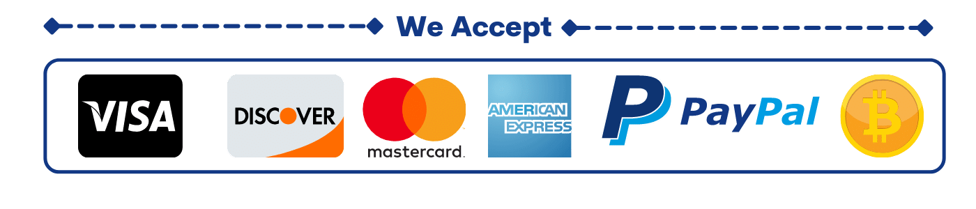 Payments Options Available